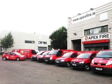 Apex Fire Dublin Depot