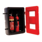 Extinguisher Cabinet Double Plastic Product Code: 03010201