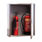 Extinguisher Cabinet Double Steel Product Code: 03120102