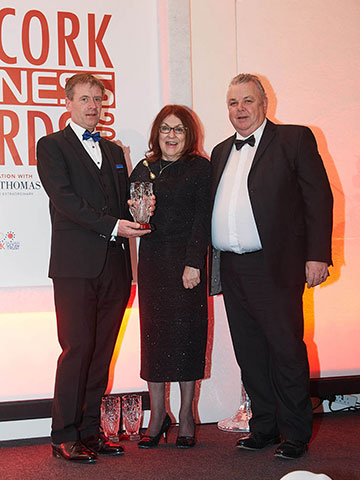 Apex Fire Win Cork Fire Safety Company of The Year 2016